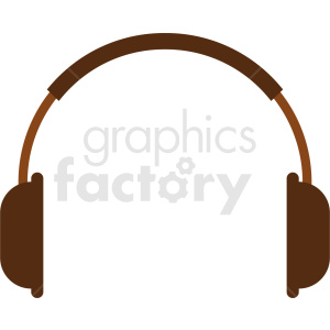audio headphones vector