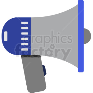 megaphone vector clipart. Commercial use image # 408723