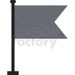 dark flag icon clipart. Royalty-free image # 408750