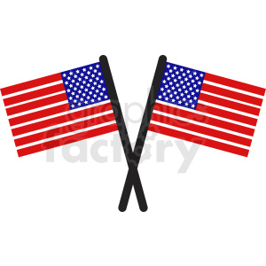 usa flags icon clipart. Royalty-free image # 408768