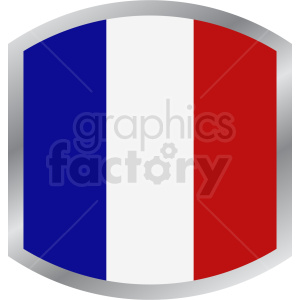 french flag design clipart. Royalty-free image # 408780