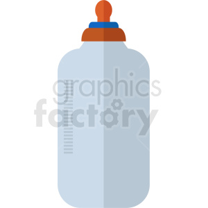 baby bottle design clipart. Royalty-free icon # 408880