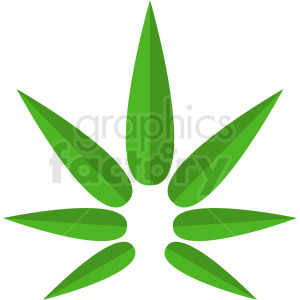 vector marijuana leaf logo design clipart. Royalty-free image # 408898