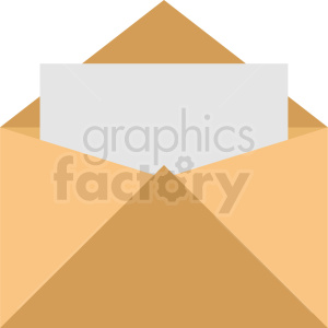 vector envelope icon clipart. Commercial use image # 409008