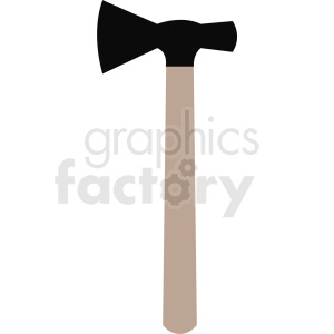 hatchet no background clipart. Royalty-free image # 409073