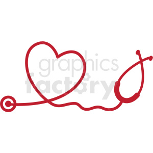 heartbeat set heart stethoscope ekg svg cut file clipart. Commercial use image # 409232