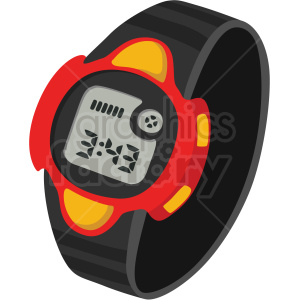 sport wrist watch no background clipart. Royalty-free image # 409476