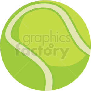 tennis ball vector clipart clipart. Commercial use image # 409548