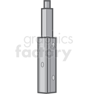 vape with mod vector clipart
