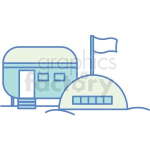 base camp icon clipart. Royalty-free image # 409789