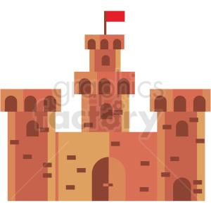 castle game vector icon clipart clipart. Commercial use image # 409850