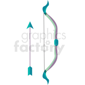 bow and arrow vector icon clipart clipart. Royalty-free image # 409869