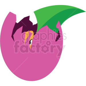 dragon hatching game vector icon clipart clipart. Royalty-free image # 409873