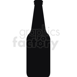 bottle silhouette clipart. Royalty-free image # 410270