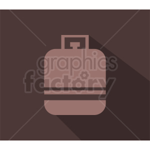propane tank vector on brown background clipart. Royalty-free image # 410369