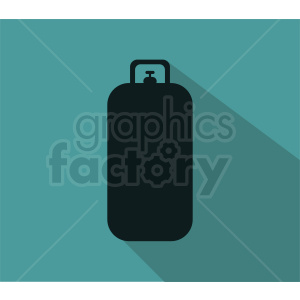 high pressure tank on square background clipart. Royalty-free image # 410382