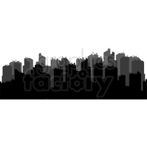 city buildings vector clipart clipart. Commercial use image # 410415