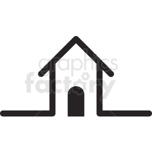 house design vector clipart clipart. Commercial use image # 410417