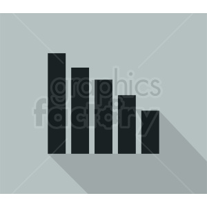 bar chart vector clipart. Royalty-free image # 410462