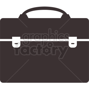 vector briefcase design clipart. Royalty-free image # 410514
