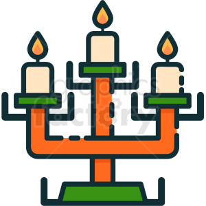 candelabra icon clipart. Commercial use image # 410515