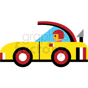cartoon car clipart. Commercial use image # 410674