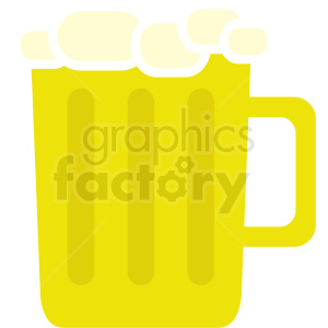 vector beer mug clipart. Commercial use image # 410706