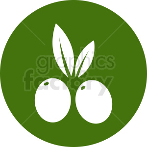 olives vector icon clipart. Royalty-free image # 410782