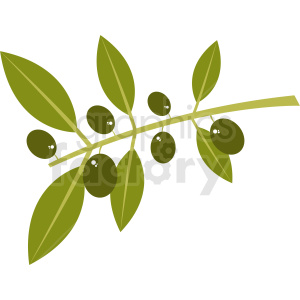 olive branch clipart clipart. Royalty-free image # 410797