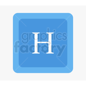 blue hospital icon design clipart. Royalty-free image # 410873