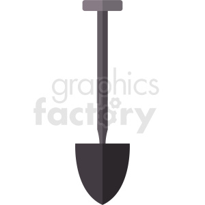 gray shovel vector no background clipart. Royalty-free image # 410909