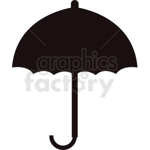 black umbrella icon clipart. Royalty-free image # 410914