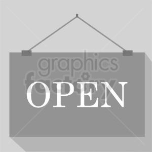 open sign clipart