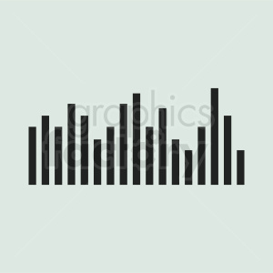statistics chart vector icon with square background clipart. Commercial use image # 411038