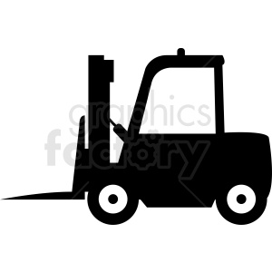 fork lift icon clipart. Royalty-free image # 411100