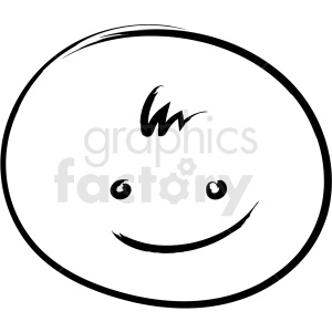 baby drawing vector icon clipart. Royalty-free image # 411343
