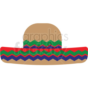 sombrero vector clipart clipart. Commercial use image # 411675