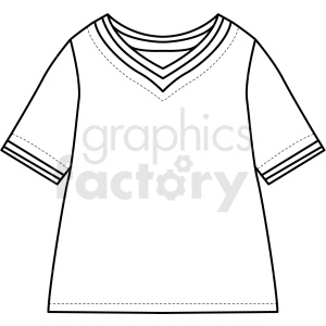 black white tshirt icon vector clipart