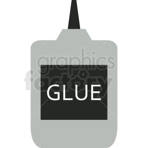 glue bottle clipart icon