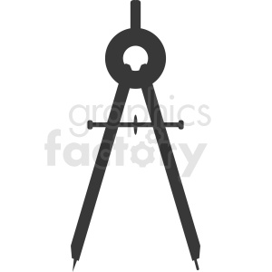 drafting compass vector clipart clipart. Royalty-free image # 411922