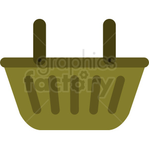 picnic basket vector clipart clipart. Commercial use image # 411924