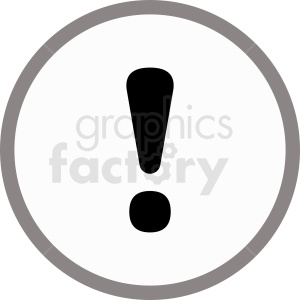 gray information symbol vector icon clipart. Royalty-free image # 412062