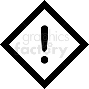 caution sign vector clipart. Commercial use image # 412069