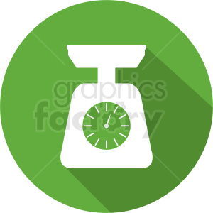 food scale icon clipart. Commercial use image # 412136