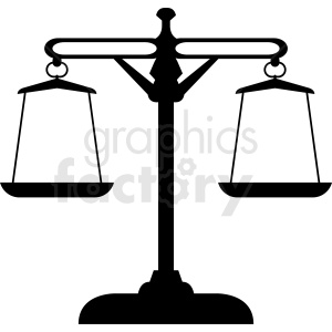 gram scales vector clipart clipart. Commercial use image # 412139