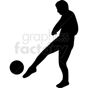 soccer player vector clipart clipart. Royalty-free image # 412159