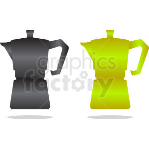 coffee pot vector clipart clipart. Royalty-free image # 412270
