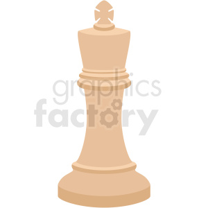 chess king piece vector clipart clipart. Royalty-free image # 412496