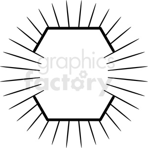 burst design vector clipart clipart. Royalty-free image # 412558
