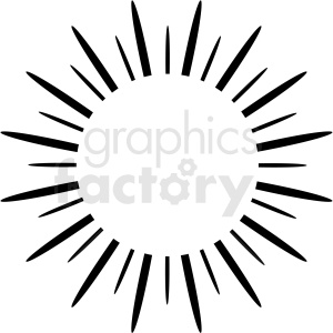 burst vector clipart design clipart. Royalty-free image # 412561
